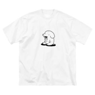yodare Big silhouette T-shirts