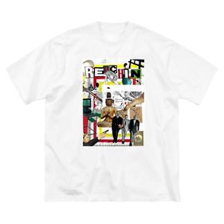 REACHIN Big silhouette T-shirts