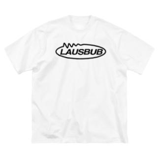 LAUSBUB LOGO② Big silhouette T-shirts