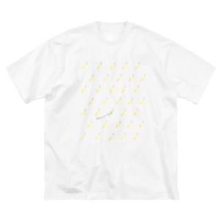 CYB pattern Big silhouette T-shirts