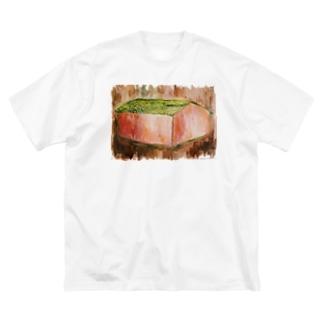 sayuのpinkhouse・greenroof Big silhouette T-shirts