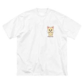 チワワちゃん Big silhouette T-shirts
