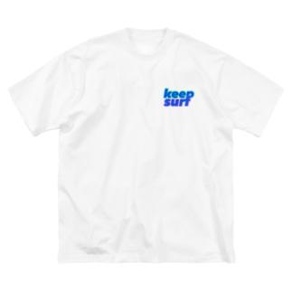 キャラフルヒロシ Big silhouette T-shirts
