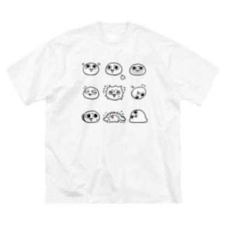 モチゾー(9種) Big silhouette T-shirts