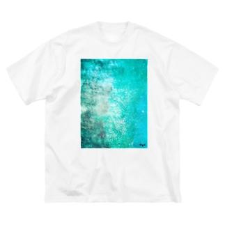 アオくんA Big silhouette T-shirts