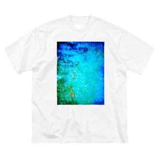アオくんB Big silhouette T-shirts
