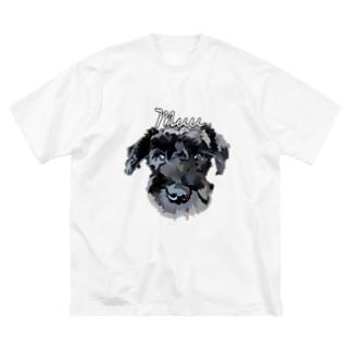 シュナウザー Muu Big silhouette T-shirts