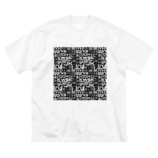 古のネット用語柄❸ Big silhouette T-shirts