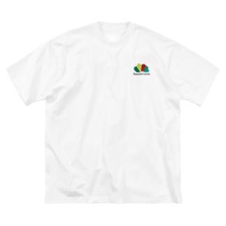 ダニエルルーカスロゴ Big silhouette T-shirts