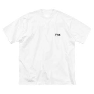5 Big silhouette T-shirts