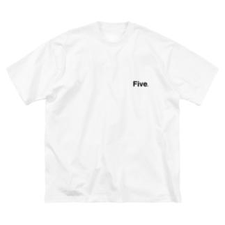 5 改 Big silhouette T-shirts