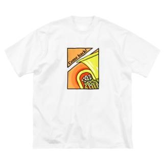 カムバック!(ユーフォチューバ) Big silhouette T-shirts