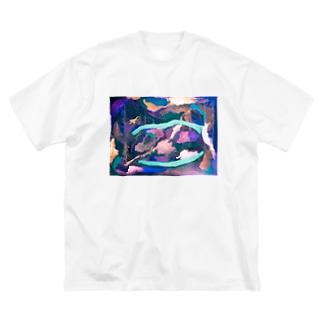 過去作② Big silhouette T-shirts