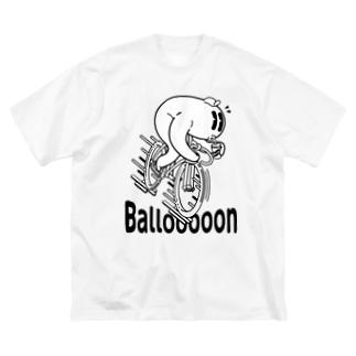 """Ballooooon"" #1 Big Silhouette T-Shirt"