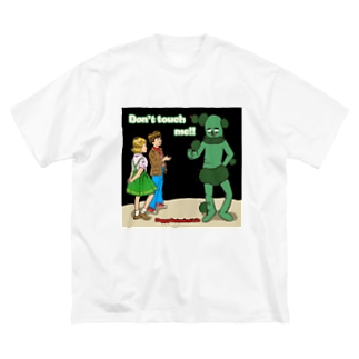 Don't touch me Big silhouette T-shirts