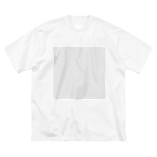 この世には存在しない透明な何か Big silhouette T-shirts