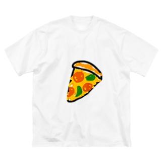 pizza club Big Silhouette T-Shirt