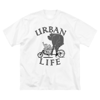 """""""URBAN LIFE"""" #1 Big Silhouette T-Shirt"""