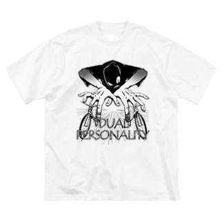 """""""DUAL PERSONALITY""""(B&W) #1 Big Silhouette T-Shirt"""