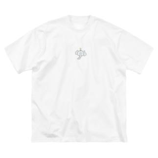 宇宙のゾウ蔵くん Big silhouette T-shirts