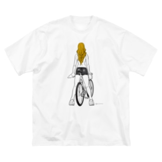 fixed bike Big T-shirts