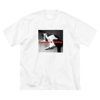 ココちゃん Big silhouette T-shirts
