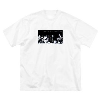 ゆれつづけるTシャツ Big silhouette T-shirts