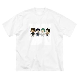 いつメン Big silhouette T-shirts