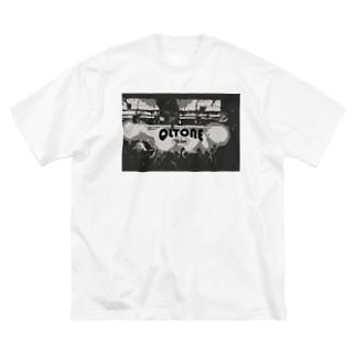 QLTONE10周年記念グッズ特設ページの白熱 Big silhouette T-shirts