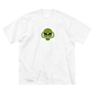ザクザクのザックザク Big silhouette T-shirts