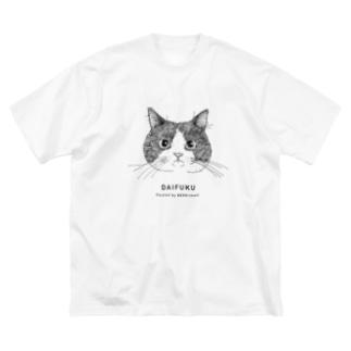1CAT(DAIFUKU) Big silhouette T-shirts