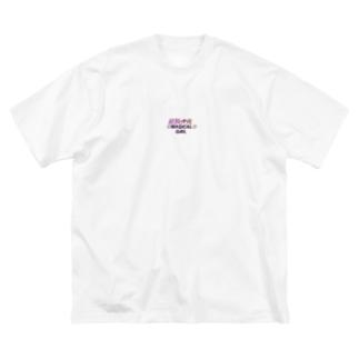 魔法少女ーMAGICAL GIRLー Big silhouette T-shirts