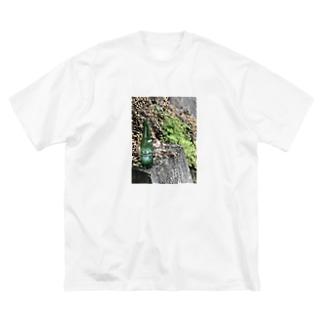 横須賀の野良ハイネケン Big silhouette T-shirts