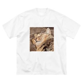 スヤにこカレン Big silhouette T-shirts