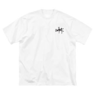 """SMEASEA"" big silhouette T-shirt Big silhouette T-shirts"