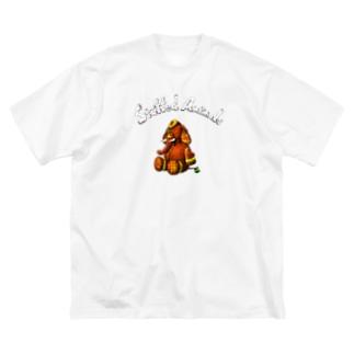 Stuffed Animals_Elephant Big silhouette T-shirts