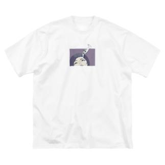 EYE CREAM Big silhouette T-shirts