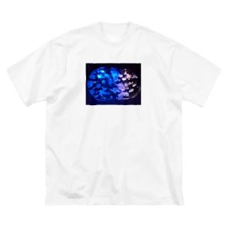 水族館withクラゲ Big silhouette T-shirts