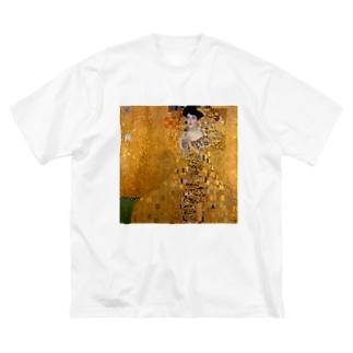 グスタフ・クリムト(Gustav Klimt) / 『アデーレ・ブロッホ=バウアーの肖像 I』(1907年) Big silhouette T-shirts