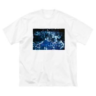きらきらくらげぇ Big silhouette T-shirts