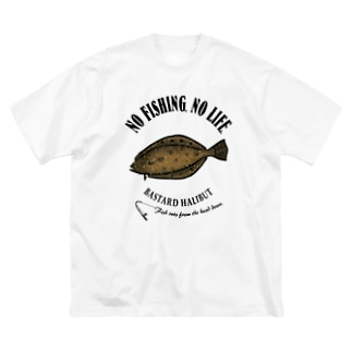 HIRAME_EB_1CW Big silhouette T-shirts