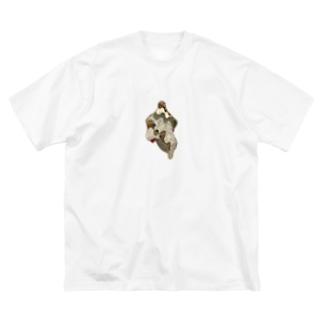 有機体 Big silhouette T-shirts