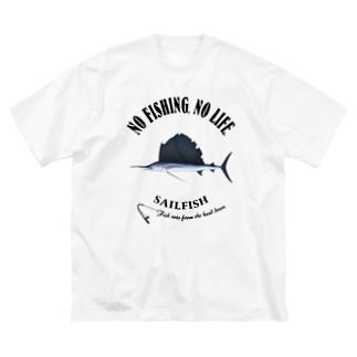 BASHOUKAJIKI_EB_2CW Big silhouette T-shirts