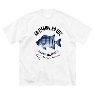 ISHIDAI_EB_2CW Big silhouette T-shirts