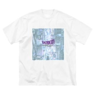 でおきしりぼ子のえきせんとりしてぃ-正方形(文字小さめ) Big Silhouette T-Shirt