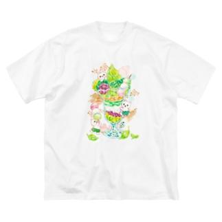 抹茶パフェ Big Silhouette T-Shirt