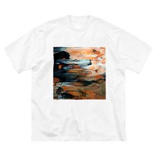 Ns Big silhouette T-shirts