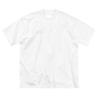 もじゃもじゃくん Big silhouette T-shirts