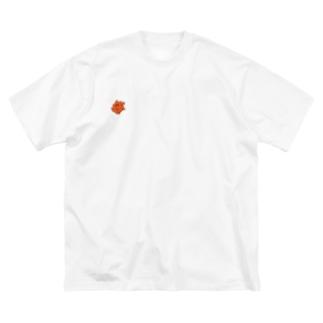 楓マン Big silhouette T-shirts