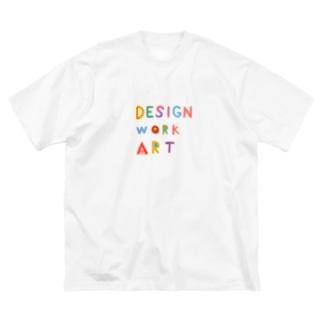 DESIGN WORK ART  Big silhouette T-shirts